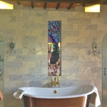 colorado springs stained glass bathroom