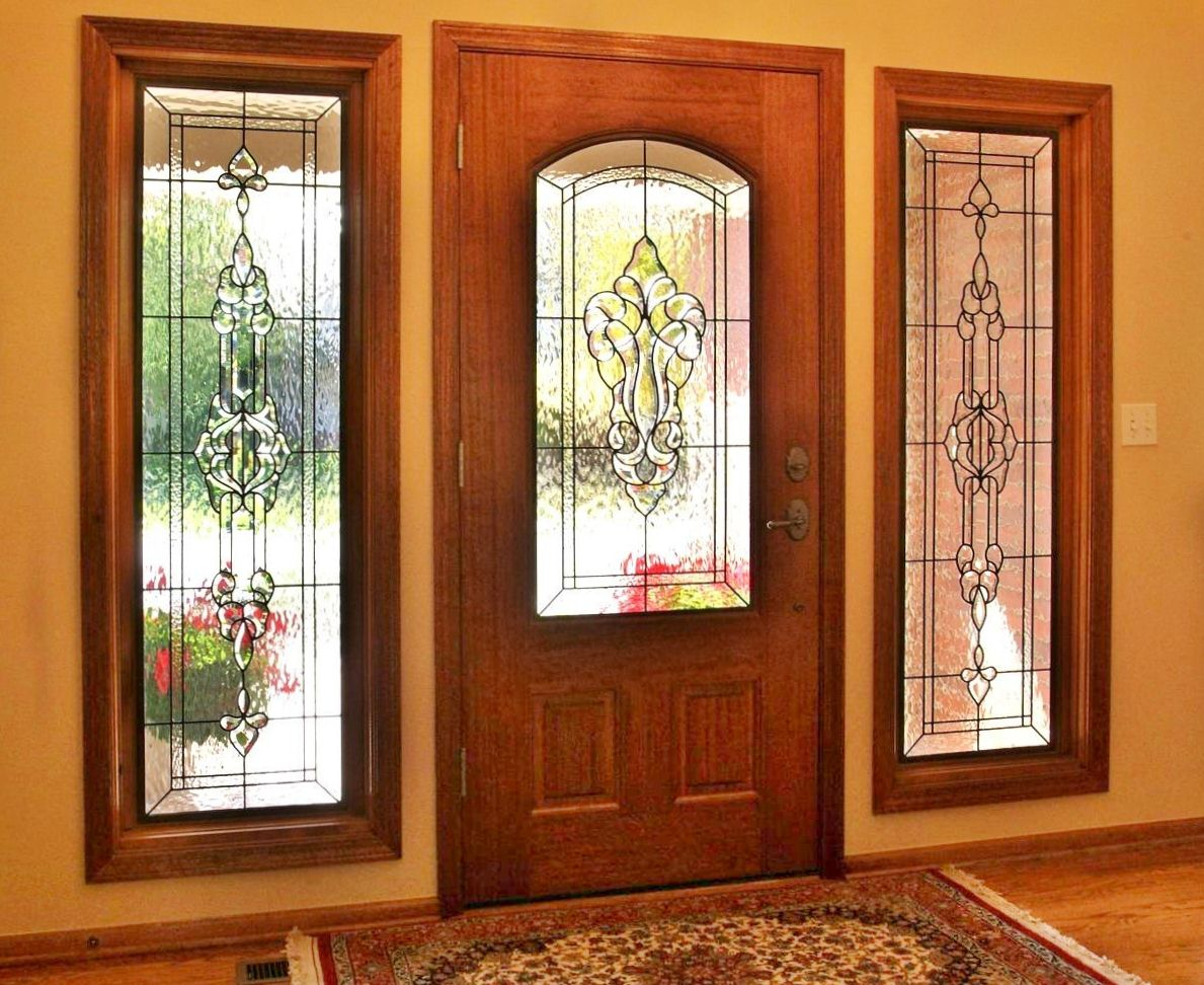 Beau Stained Glass Entryways