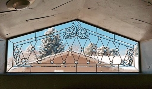Colorado Springs Stained Glass Transom