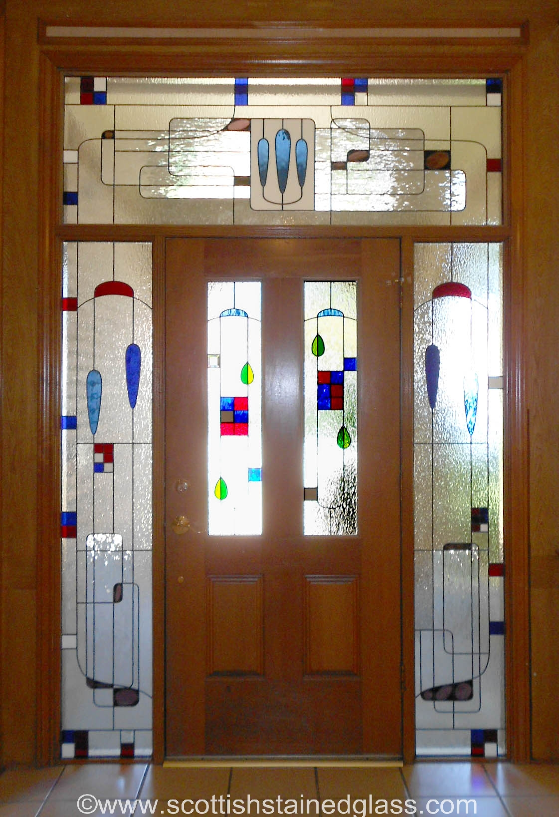 Stained Gl Sidelight Windows More Privacy For Your Colorado Springs Home