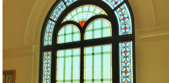 religious stained glass temple colorado springs