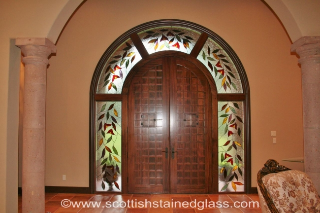 entryway stained glass trinidad