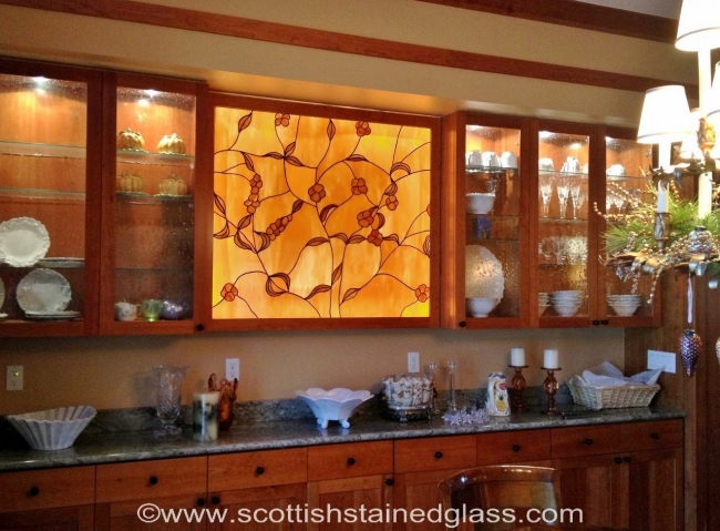 kitchen stained glass castle rock