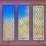 colorado springs custom bathroom stained glass windows