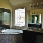 bathroom stained glass colorado springs