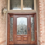 colorado springs custom stained glass door