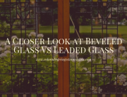 beveled glass vs leaded glass colorado springs